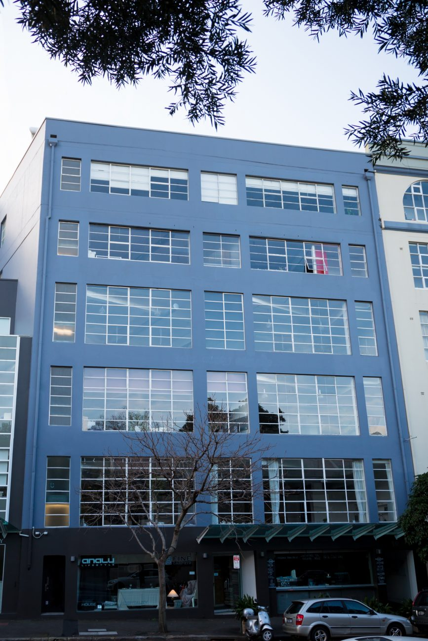 Exterior Of The Building After Painting Works - Cladding Sydney - Magellan Company