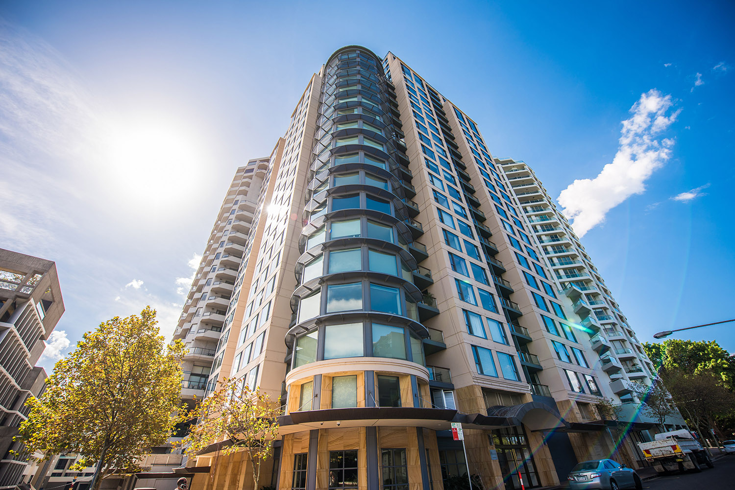We provide repair and glazing work to a number of Sydney Buildings